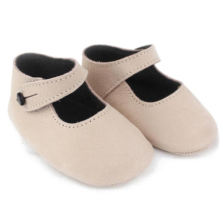 Baby girl mercedita leather shoes - orkids boutique