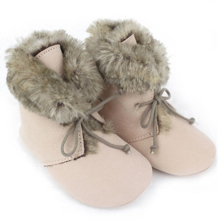 Baby girl pink lace shoes - orkids boutique