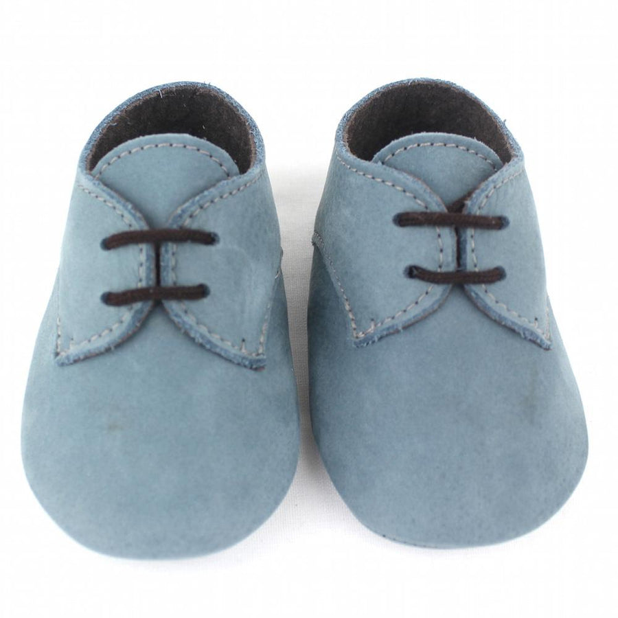 Light blue Tom baby shoes - orkids boutique