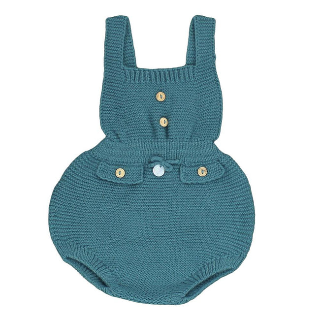 Baby knitted dungaree - orkids boutique
