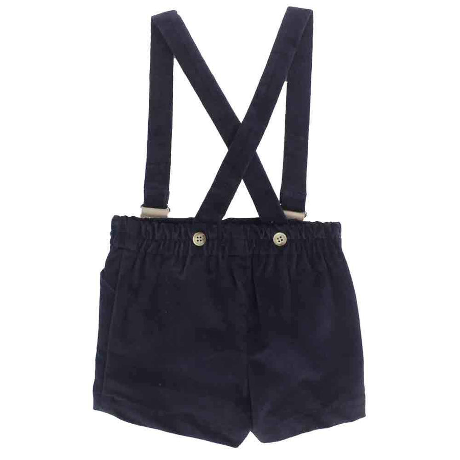 Black velvet Boy short - orkids boutique