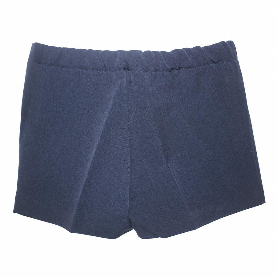 Navy Boy shorts - orkids boutique