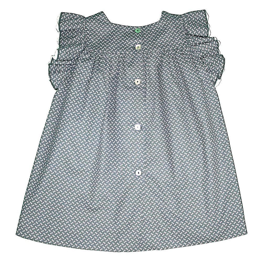Girl Star cotton dress - orkids boutique