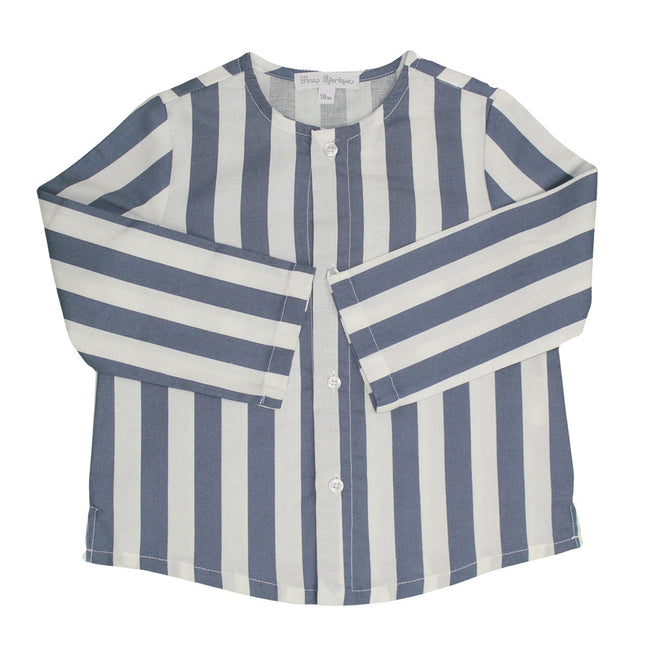 Boys Striped Shirt - orkids boutique