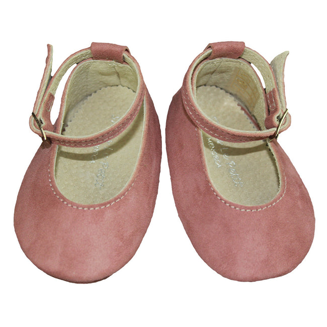 fae53ceb83 Dusty Pink Ballerinas - orkids boutique