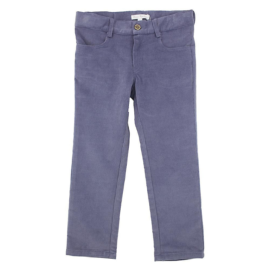 Boy blue corduroy trousers - orkids boutique