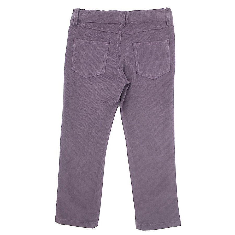 Boy light purple corduroy trousers - orkids boutique