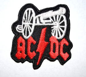 ACDC Rock Band Iron On or Sew On Embroidered Patch