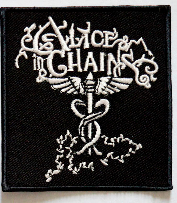 Alice in Chains music band Iron on Sew on Embroidered Patch - Patches-Badges