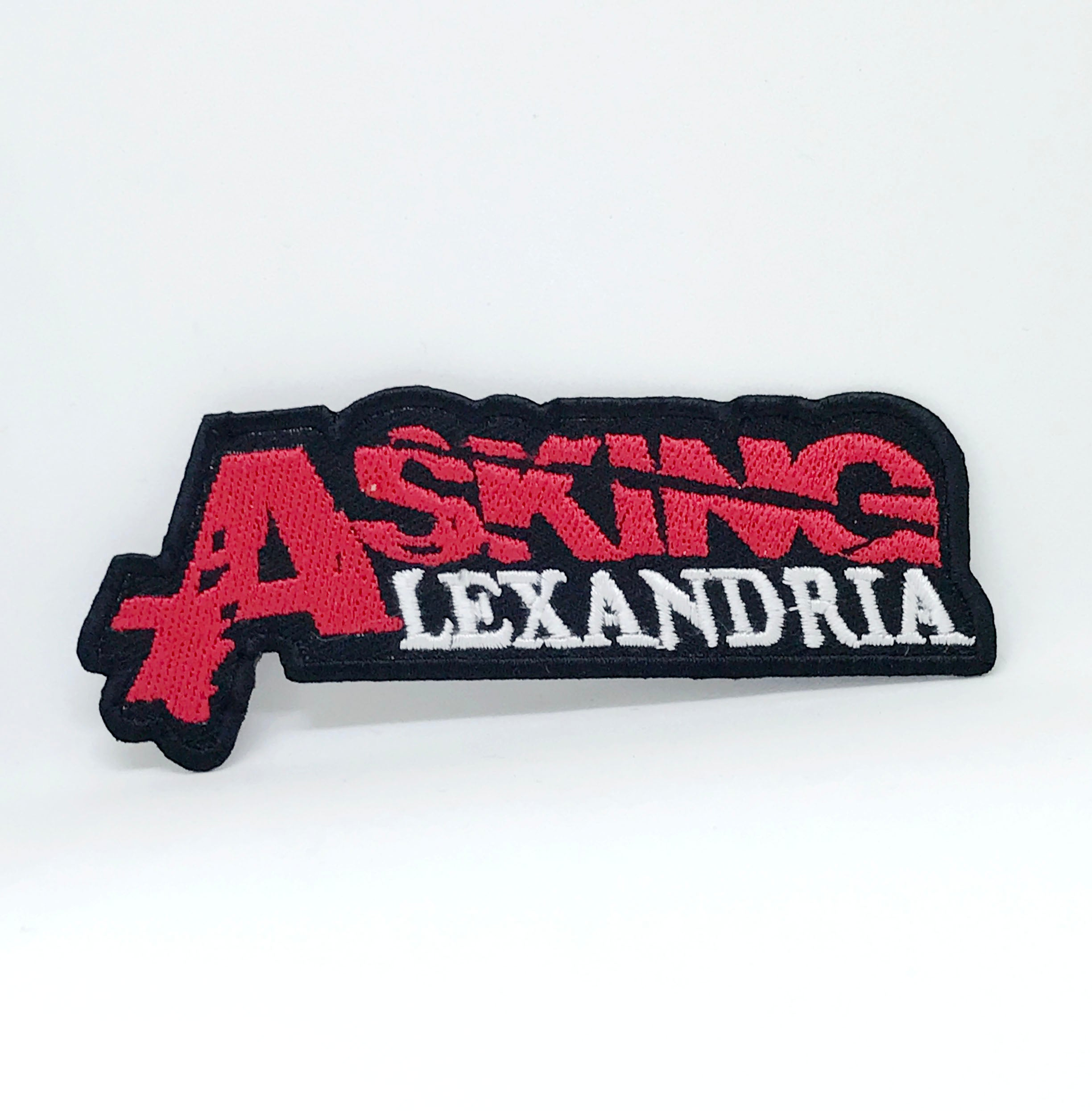 ASKING ALEXANDRIA METAL PUNK ROCK MUSIC IRON SEW ON EMBROIDERED PATCH
