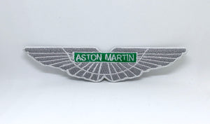 New Aston Martin DBS DB7 DB9 F1 Racing Iron Sew on Embroidered Patch