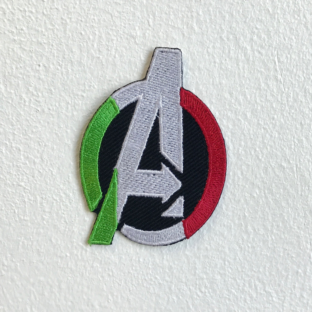Superheroes Avengers A logo badge Sew on Embroidered Patch