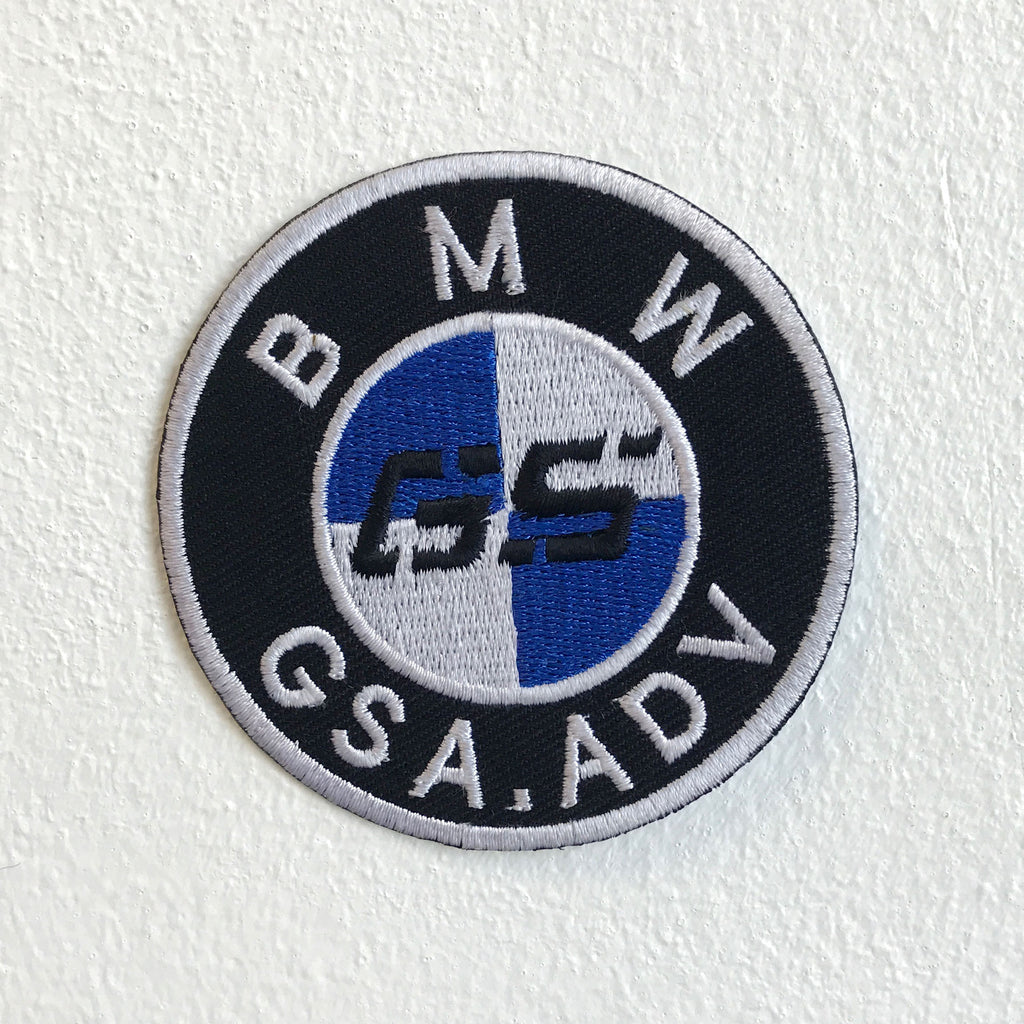 BMW G5 Motorsports Bike Logo Iron Sew on Embroidered Patch