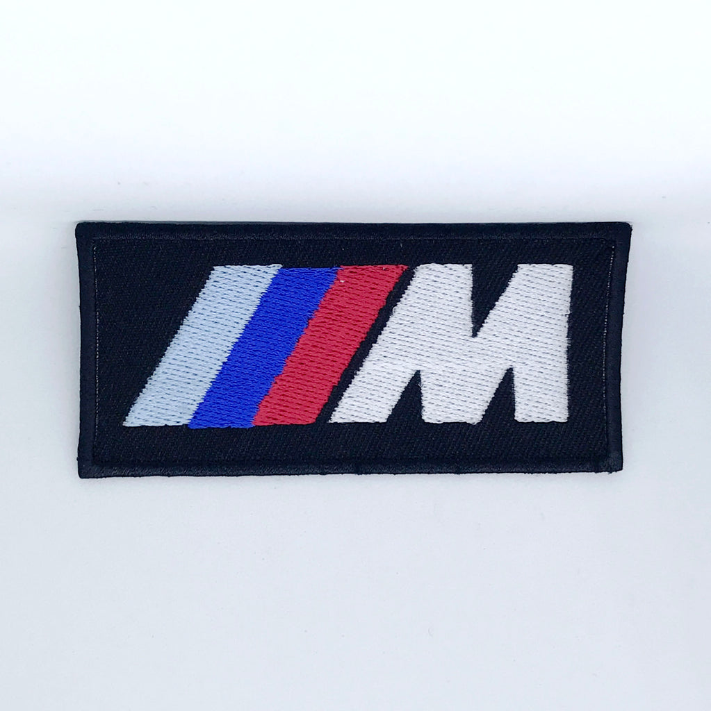 BMW M3 Series Car Racing Iron on Sew on Embroidered Patch - Patches-Badges