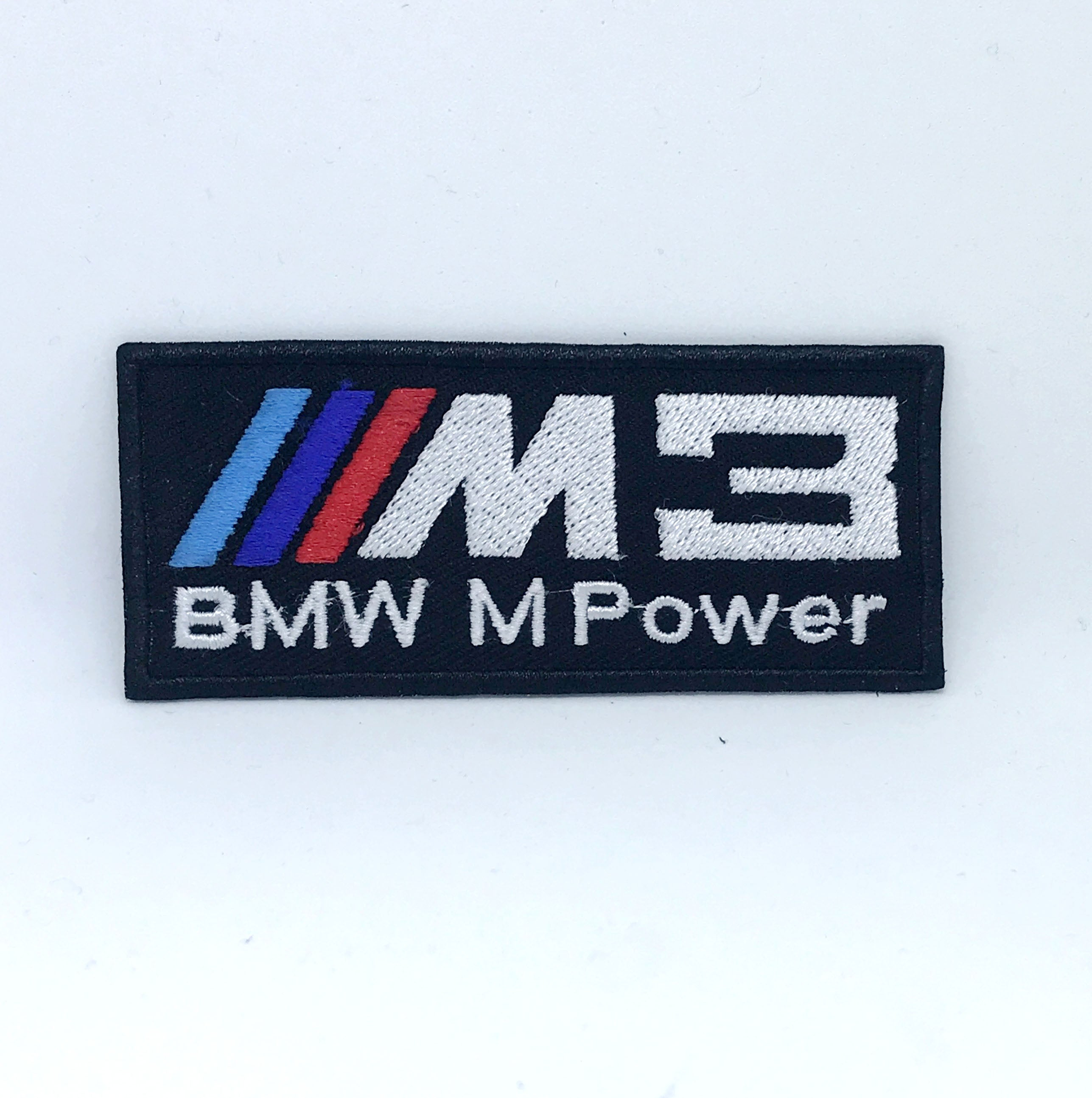 BMW M power M3 Automobile car racing series Iron on Sew on Embroidered Patch