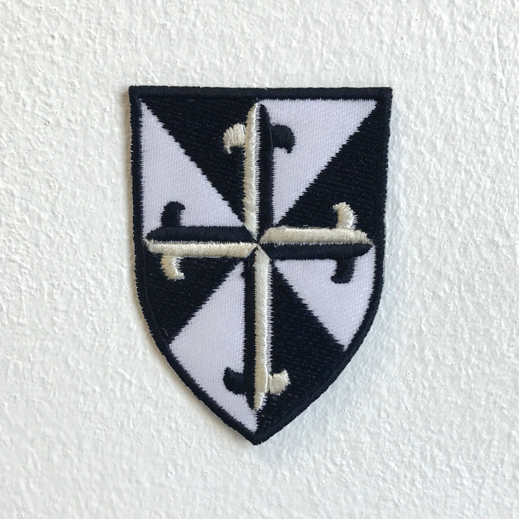 The Dominican order badge Iron Sew On Embroidered Patch