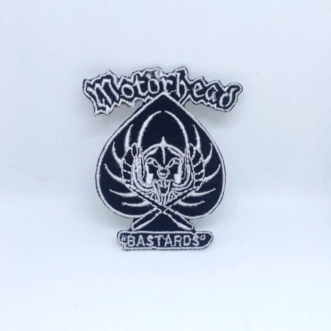 Motorhead Band Rock Metal Music Iron/Sew on Embroidered Patch Collection - Motorhead Bastards