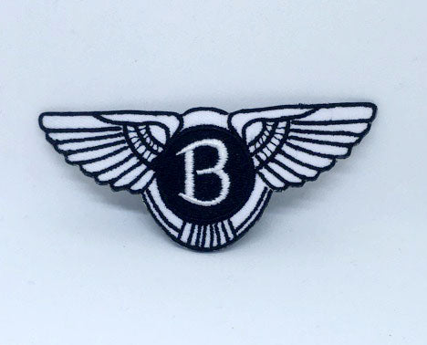 Bentley Motors Logo Iron on Sew on Embroidered Patch - Patches-Badges