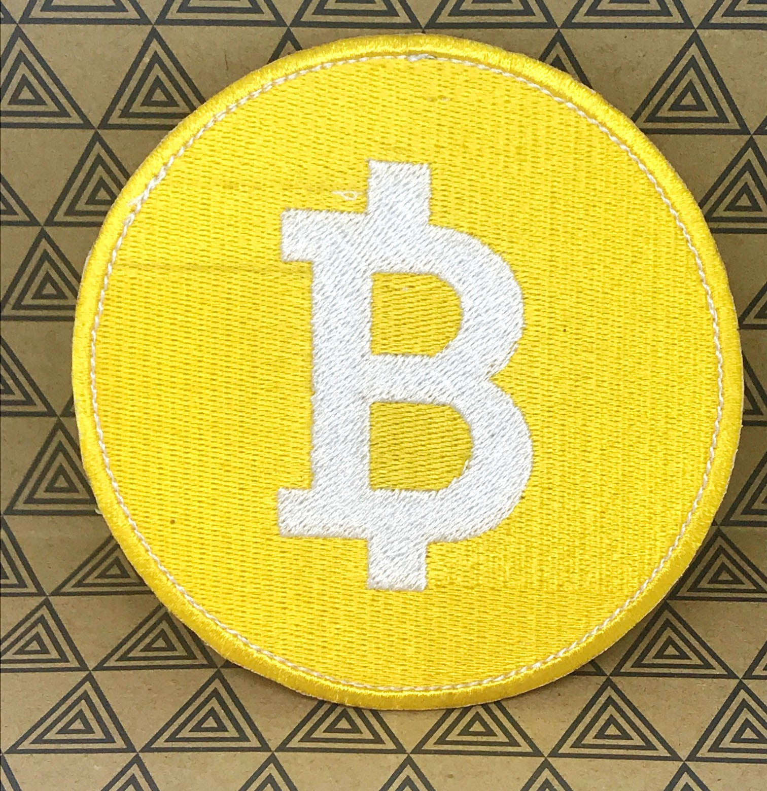 Bitcoin Digital Cryptocurrency new logo collection Iron on sew on Embroidered Patch - Patches-Badges