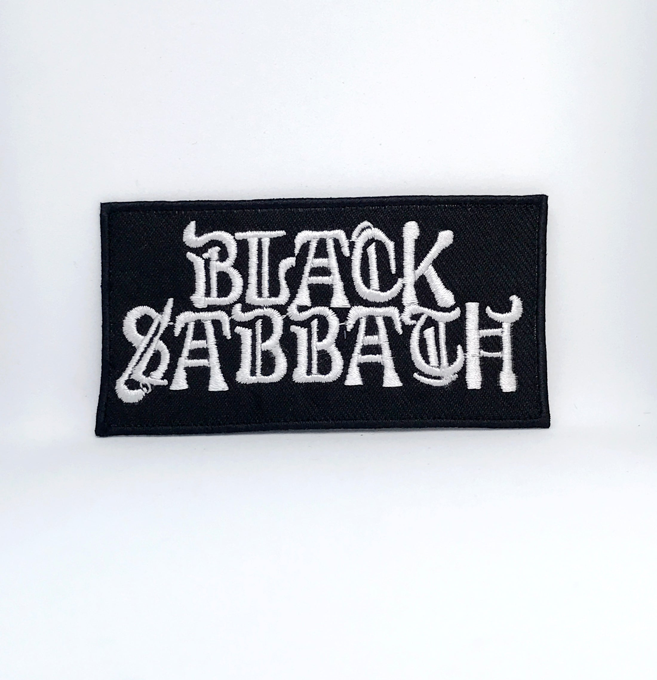BLACK SABBATH Music Band Iron Sew On Embroidered Patch