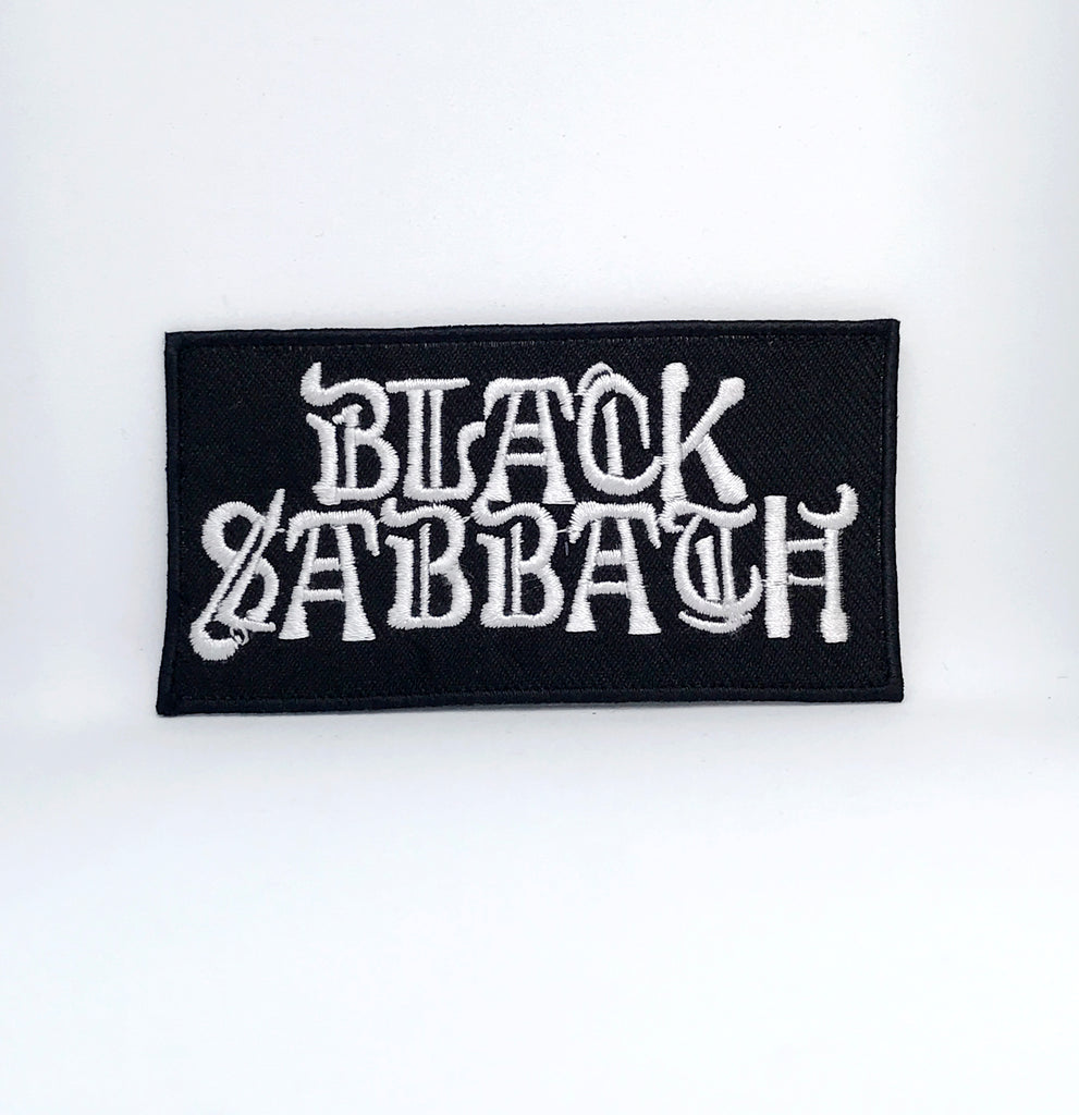 BLACK SABBATH Music Band Iron Sew On Embroidered Patch - Patches-Badges