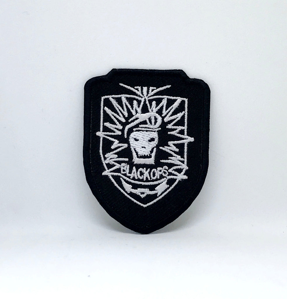 CALL OF DUTY PS3 XBOX SOG SEALS COMBAT BLACK OPS SWAT IRON SEW ON PATCH