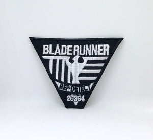 BLADE RUNNER REP DETECT Iron Sew on Embroidered Patch