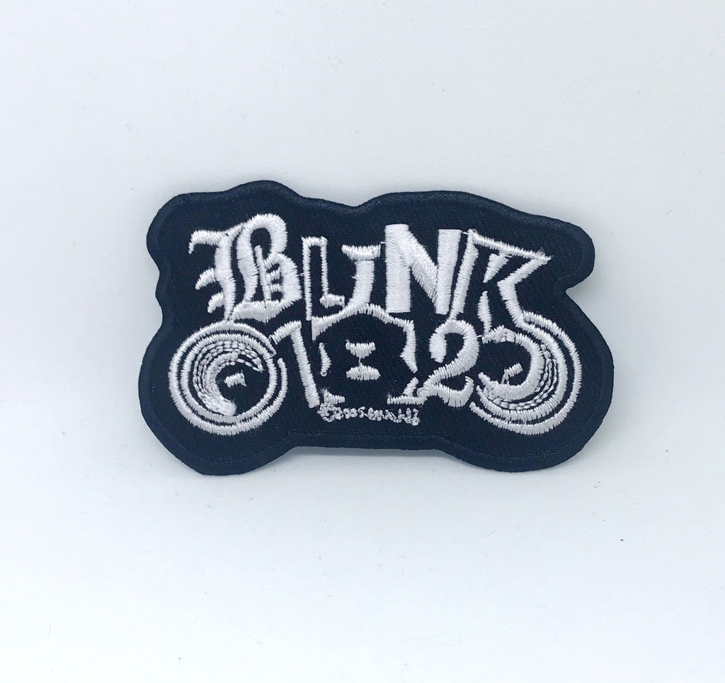 BLINK 182 Rock Indie Music Metal Grunge Punk Iron on sew on Embroidered Patch