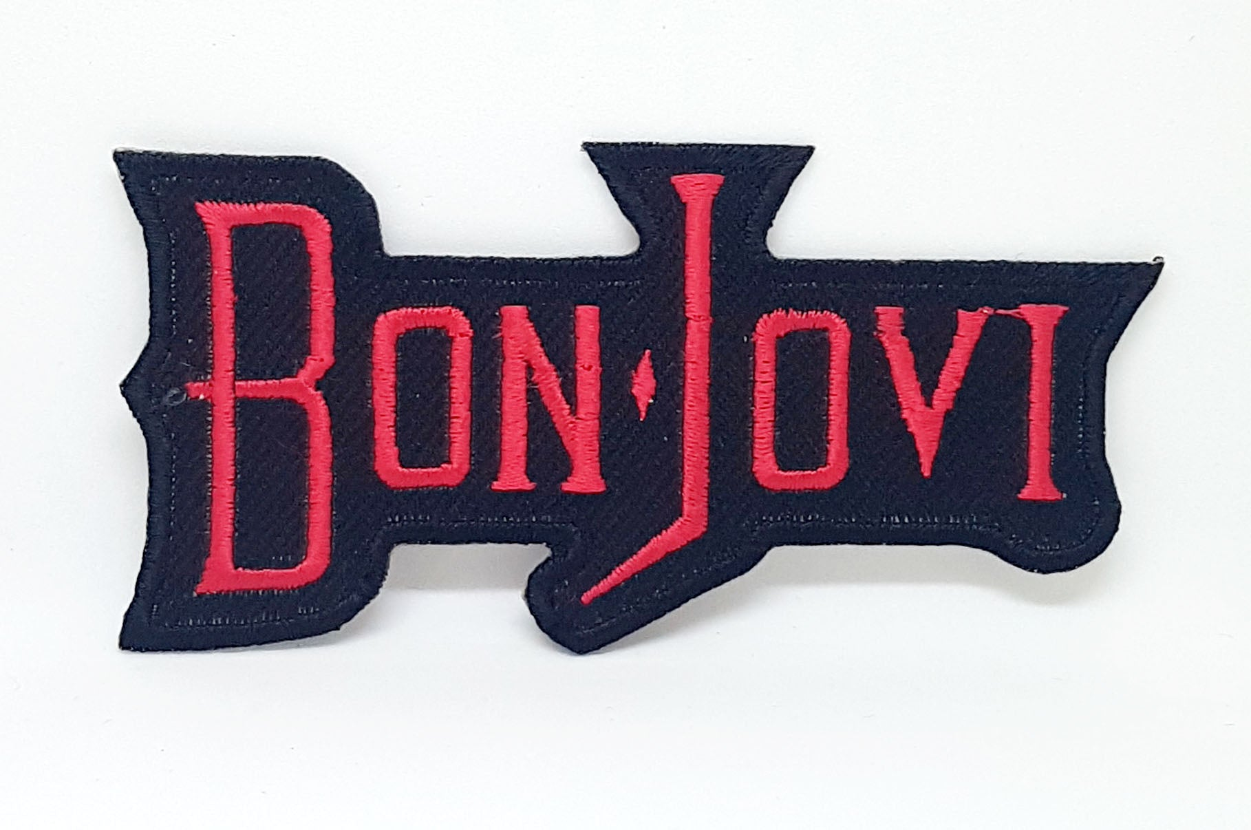 BON JOVI Rock Music Sew Iron On Embroidered Patch