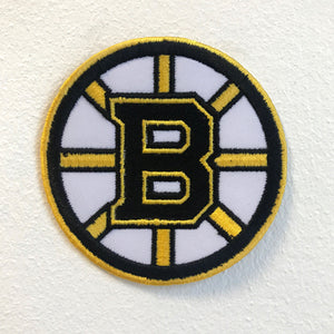 Boston Bruins Hockey team badge Iron on Sew on Embroidered Patch