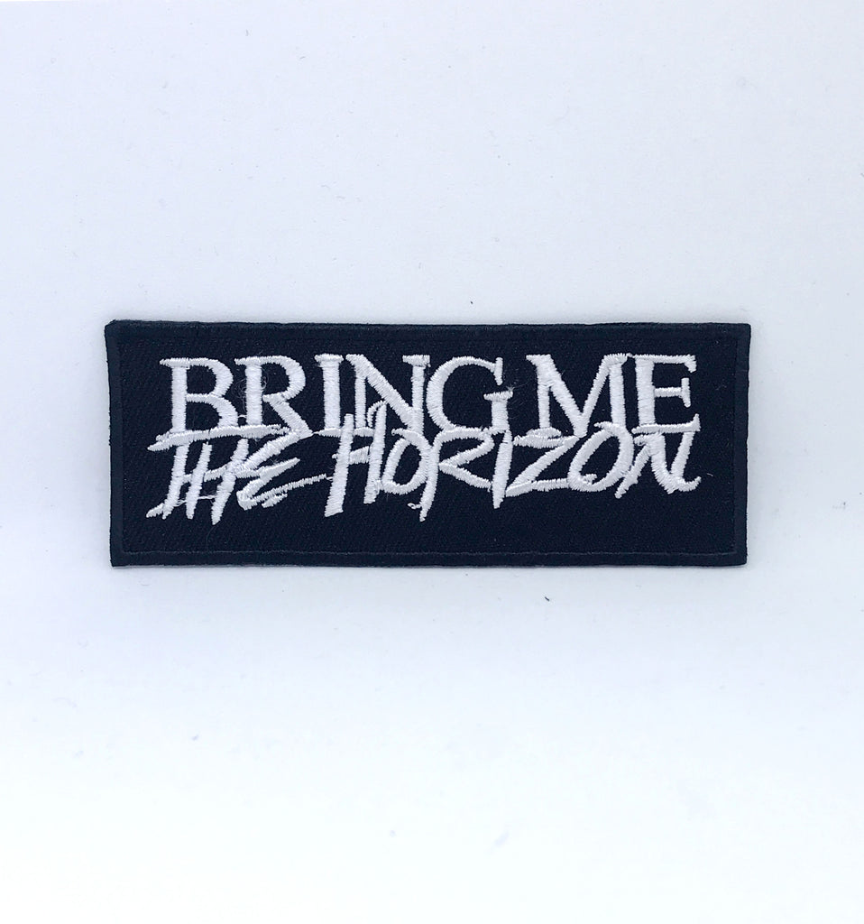 Bring Me the Horizon BMTH rock band Iron on Sew on Embroidered Patch - Patches-Badges