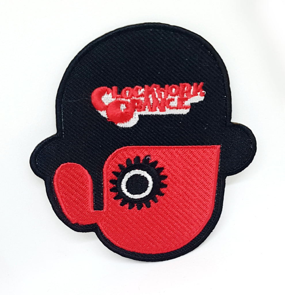 CLOCKWORK ORANGE Droog Iron Sew On Embroidered Patch