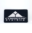 TERMINATOR Movies Cyberdyne Systems Logo Iron Sew On Embroidered Patch
