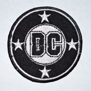 DC COMICS Company Movie Classic Logo Iron On Embroidered Patch