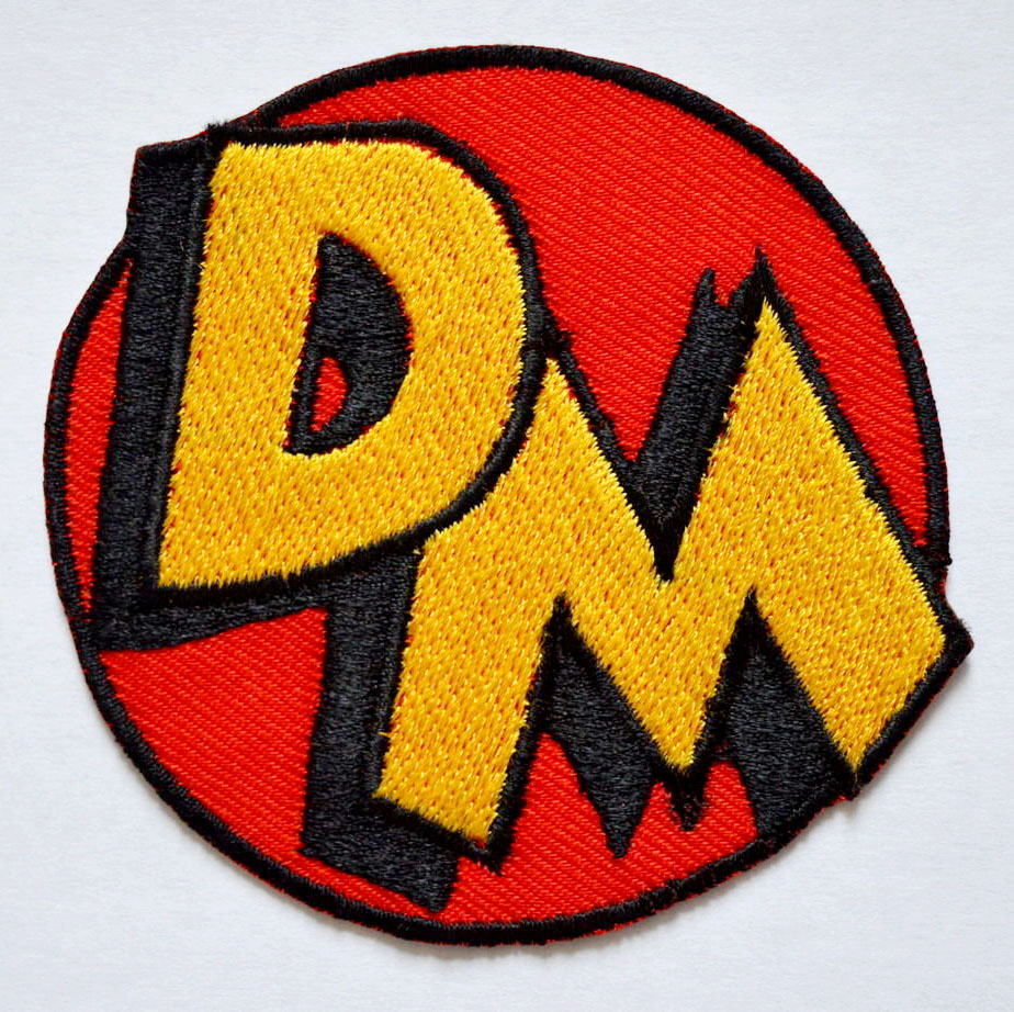 Danger Mouse Character Logo Iron on Sew on Embroidered Patch