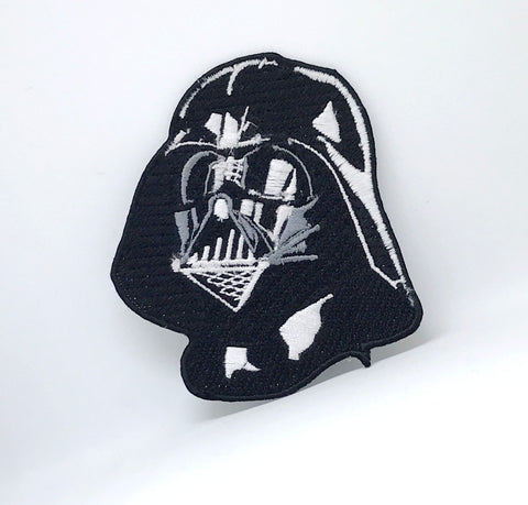 STAR WARS Movies Iron or Sew on Embroidered Patches - Darth Vader Large Sew on Only