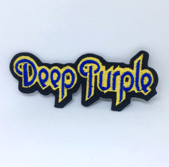 Deep Purple English Rock Band Iron on Sew on Embroidered Patch