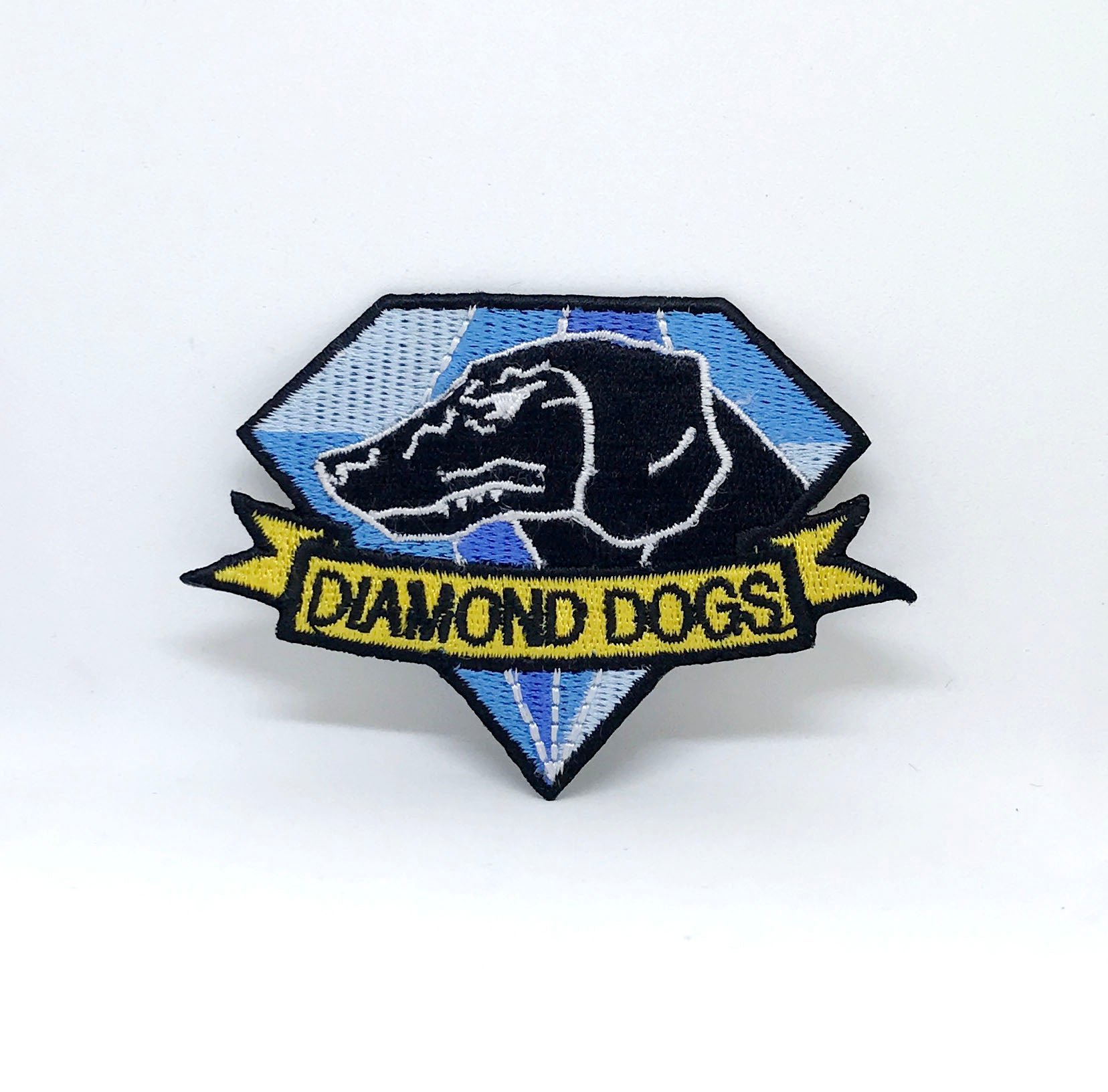 Fox Hound Diamond Dogs Metal Gear Solid Big Boss Snake Embroidered Patch