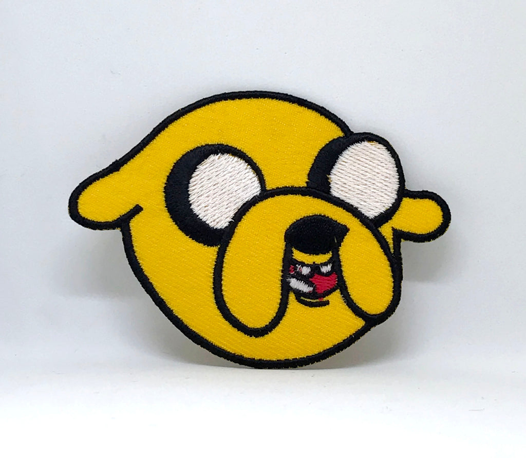 Adventure Time Jake the dog Iron/Sew on Embroidered Patch - Patches-Badges