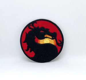 MORTAL KOMBAT Classic Video Game Iron Sew on Embroidered Patch