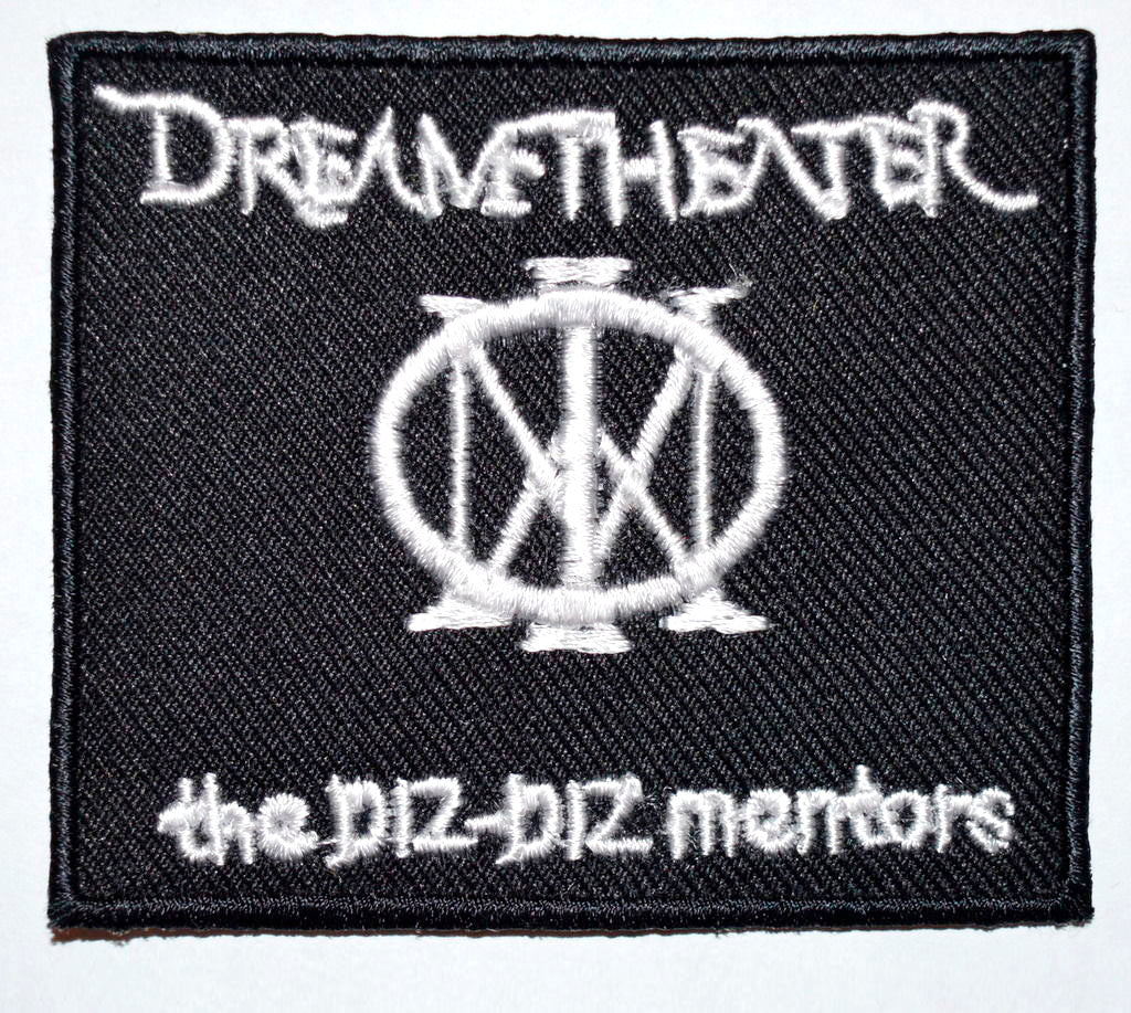 Dream Theater The Diz Diz Mentors Embroidered Sew/Iron on Patch Badge