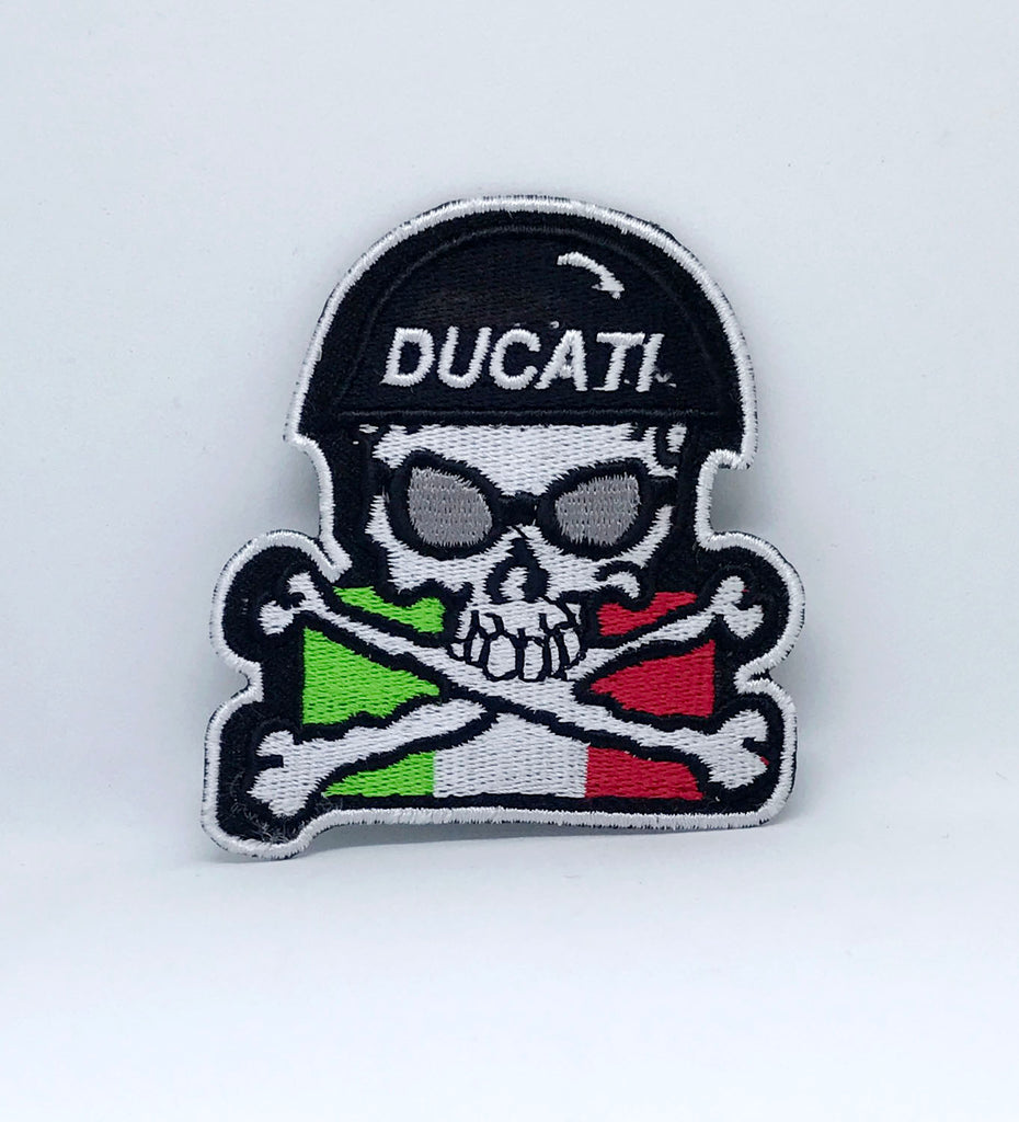 Italian Ducati Motorcycles Collection Iron Sew on Embroidered Patch