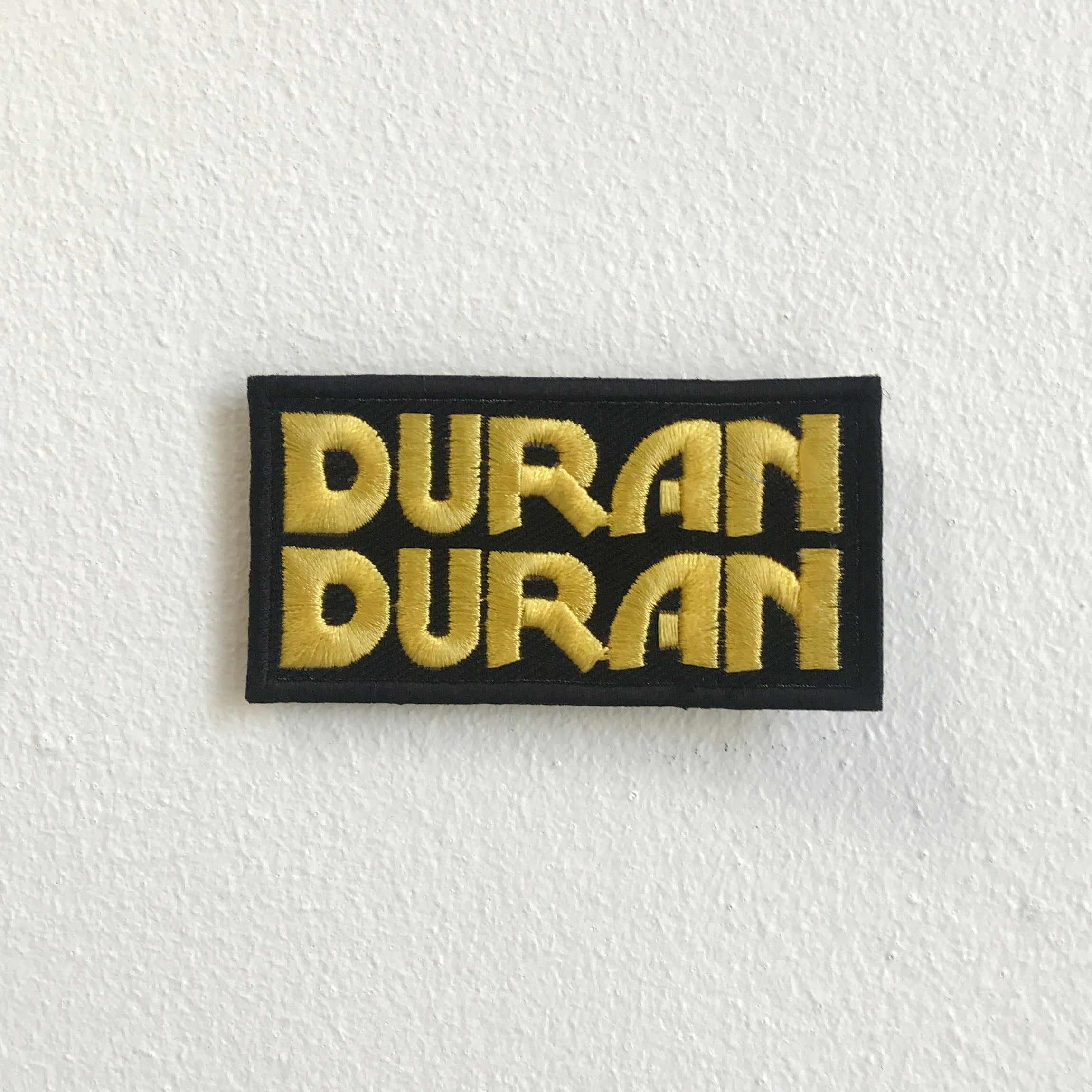 Duran Duran Music band Iron Sew On Embroidered Patch