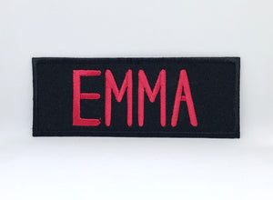 GHOSTBUSTERS - Team Member Names Iron Sew on Embroidered Patch