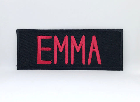 GHOSTBUSTERS - Team Member Names Iron Sew on Embroidered Patch - Patches-Badges