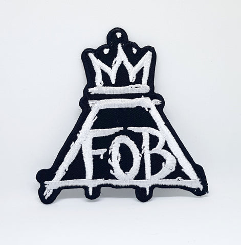 FALL OUT BOY PATRICK STUMP Iron/sew on Embroidered Patch
