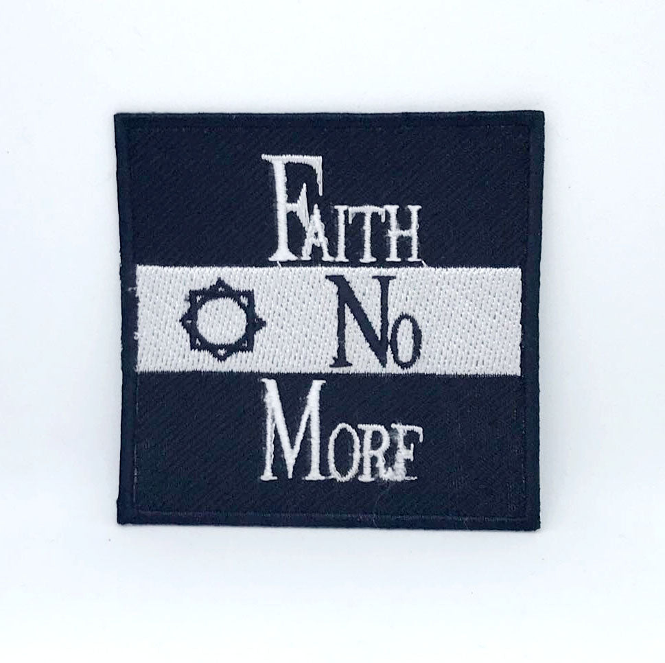 Faith No More Rock Band Logo Embroidered Iron On Patch