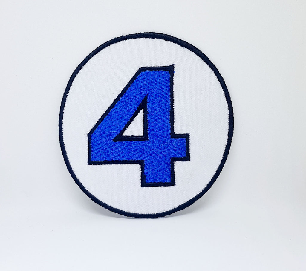 The Fantastic Four New Version Iron Sew on Embroidered Patch