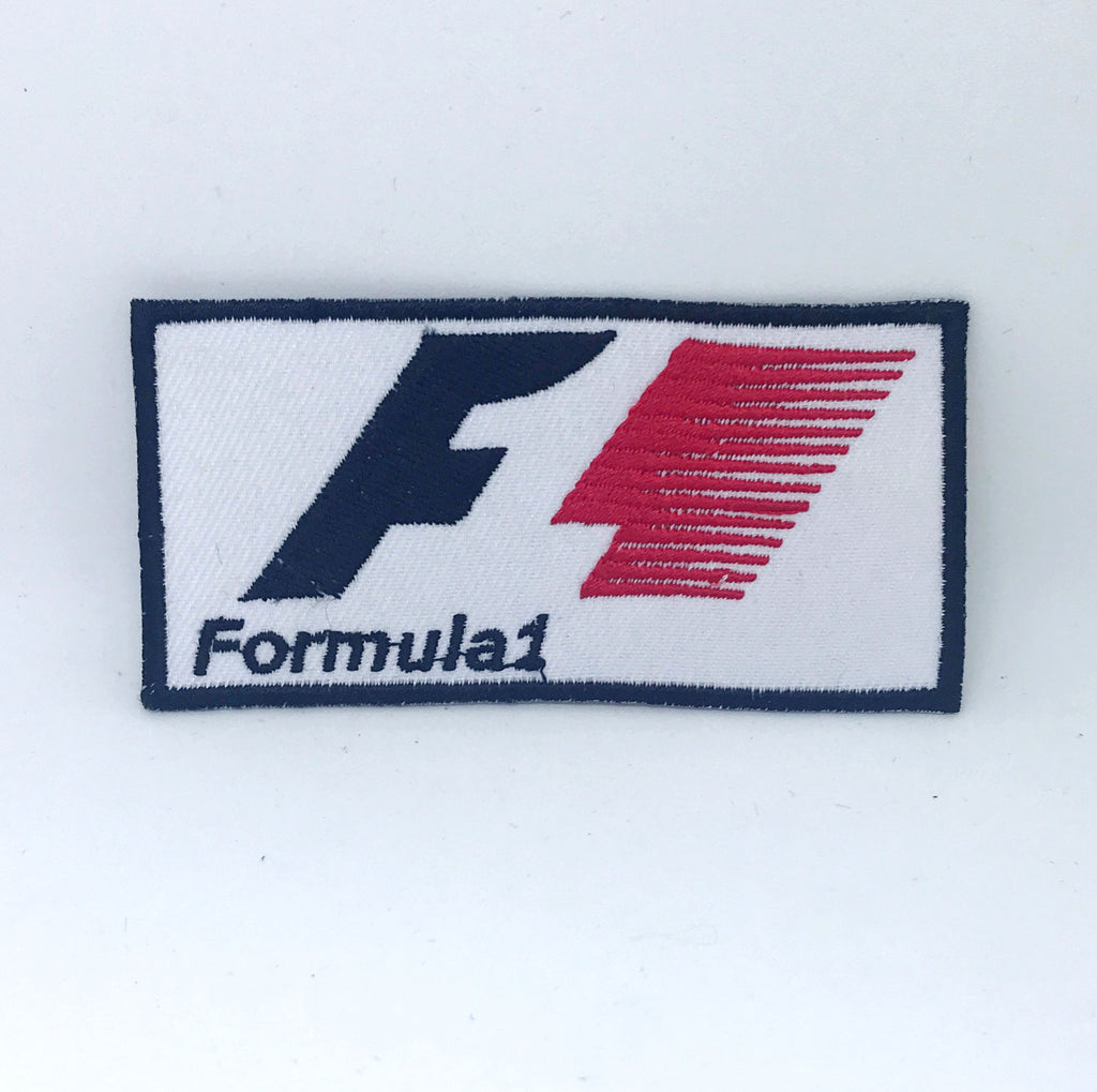 FORMULA ONE F1 Jacket Iron on Sew on Embroidered Patch