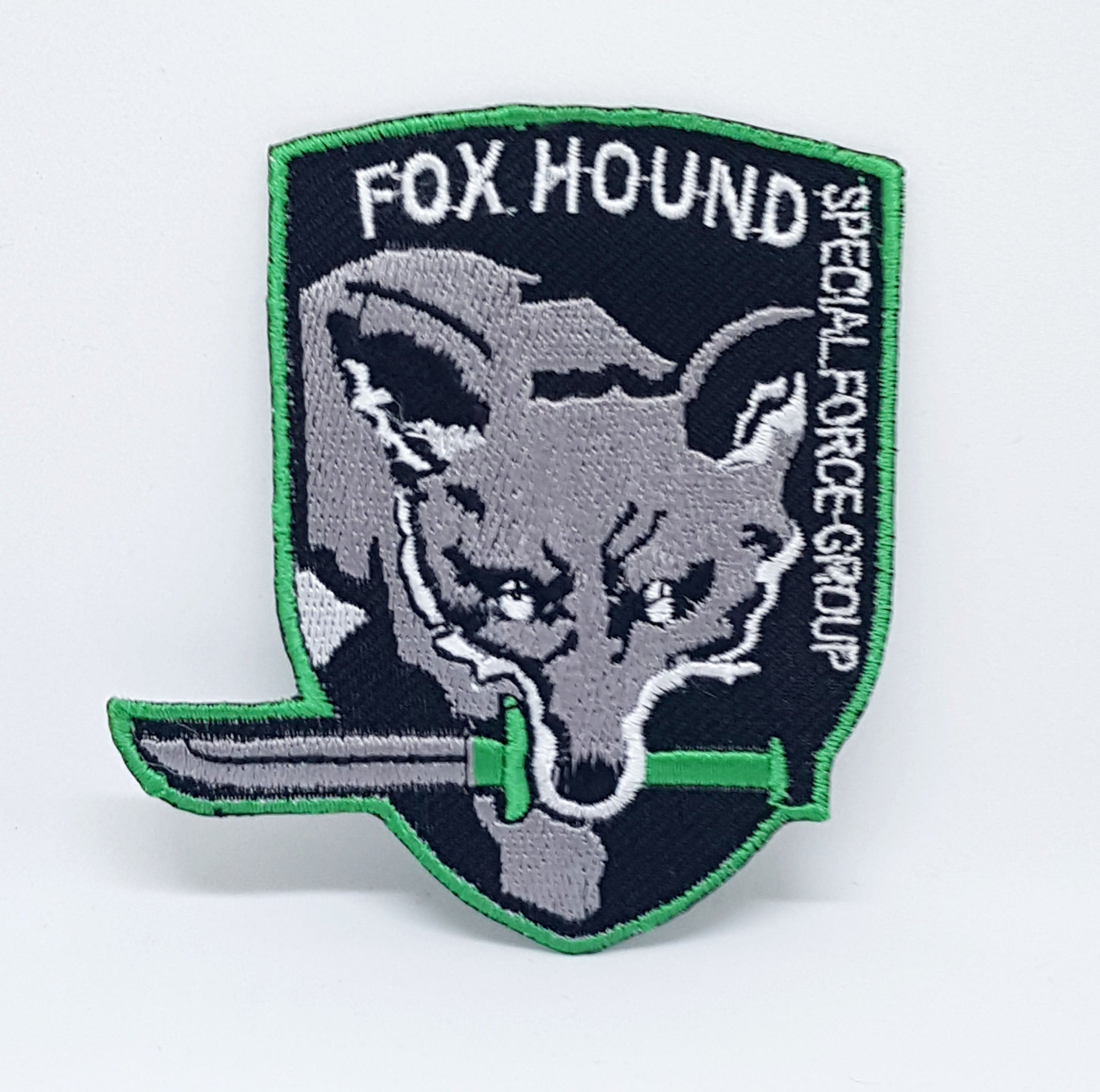 Metal Gear Fox Hound Special Force Iron/Sew on Embroidered Patch